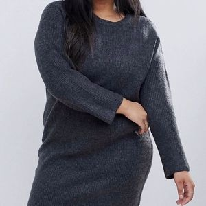 Knitted Oversized Dress